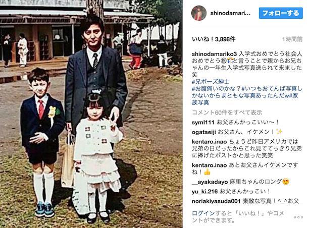 篠田麻里子 両親