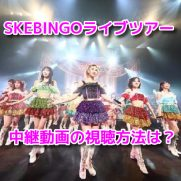 SKEBINGOライブツアー 中継動画