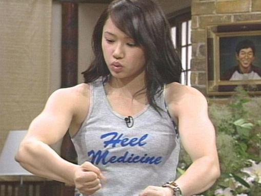ソニン 筋肉質