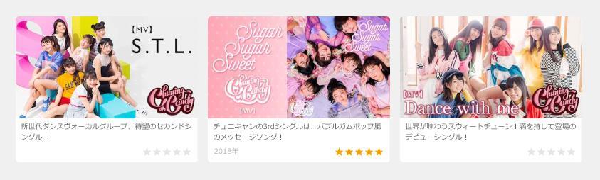 Chuning Candy 無料動画